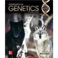 Concepts of Genetics by Brooker, Robert, 9780073525358