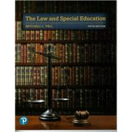The Law and Special Education,Yell, Mitchell L.,9780135175361