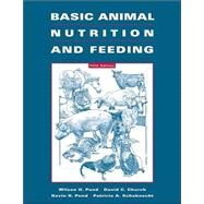 Basic Animal Nutrition and...,Pond, Wilson G.; Church,...,9780471215394