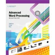 Advanced Word Processing, Lessons 56-110 Microsoft Word 2010 by VanHuss, Susie H.; Forde, Connie M.; Woo, Donna L., 9780538495400