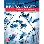 Business and Society:...,Lawrence, Anne; Weber, James,9781259315411