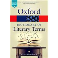 The Oxford Dictionary of...,Baldick, Chris,9780198715443