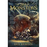 Percy Jackson and the Olympians Sea of Monsters, The: The Graphic Novel by Riordan, Rick; Venditti, Robert; Futaki, Attila; Gaspar, Tamas, 9781423145509