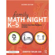 Family Math Night K-5,Taylor-cox, Jennifer,9781138915541
