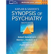 Kaplan & Sadock's Synopsis of...,Boland, Robert; Verduin,...,9781975145569