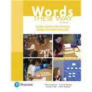 Words Their Way Word Sorts for Within Word Pattern Spellers by Invernizzi, Marcia; Johnston, Francine; Bear, Donald R.; Templeton, Shane, 9780134575681