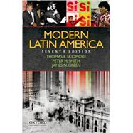 Modern Latin America,Skidmore, Thomas; Smith,...,9780195375701