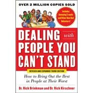 Dealing with People You Can't...,Brinkman, Rick; Kirschner,...,9780071785723