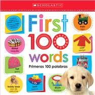 First 100 Words / Primeras 100 Palabras: Scholastic Early Learners (Lift the Flap) by Scholastic, 9781338745733