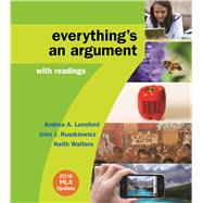 Everything's an Argument with...,Lunsford, Andrea A.;...,9781319085742