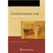 Constitutional Law,Chemerinsky, Erwin,9781454895749