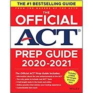 The Official ACT Prep Guide,...,Wiley,9781119685760
