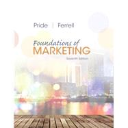 Foundations of Marketing,Pride, William M.; Ferrell,...,9781305405769