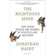 The Righteous Mind Why Good...,HAIDT, JONATHAN,9780307455772