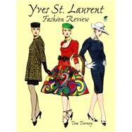 Yves St. Laurent Fashion...,Tierney, Tom,9780486405780