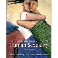 Exploring the Dimensions of Human Sexuality by Greenberg, Jerrold S., 9780763745820