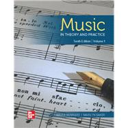 Music in Theory and Practice...,Benward, Bruce; Saker, Marilyn,9781260055825