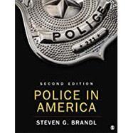 Police in America,Brandl, Steven G.,9781544375830