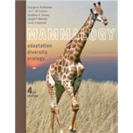 Mammalogy: Adaptation, Diversity, Ecology by Feldhamer, George A.; Drickamer, Lee C.; Vessey, Stephen H.; Merritt, Joseph F.; Krajewski, Carey, 9781421415888
