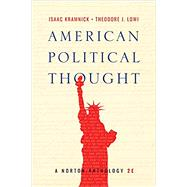 American Political Thought,Kramnick, Isaac; Lowi,...,9780393655902