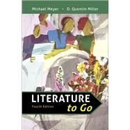 Literature to Go,Meyer, Michael; Miller, D....,9781319195922