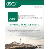 ISC 2 CISSP Certified Information Systems Security Professional Official Practice Tests by Chapple, Mike; Seidl, David, 9781119475927