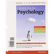 Statistics for Psychology,...,Aron, Arthur, Ph.D.; Coups,...,9780205905928