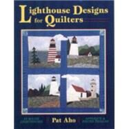Lighthouse Designs for...,Aho, Pat,9780892725991