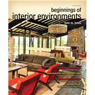 Beginnings of Interior...,Jones, Lynn M., ASID, IIDA,...,9780132786003