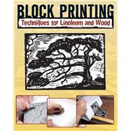 Block Printing Techniques for...,Allison, Sandy; Craig, Robert,9780811706018