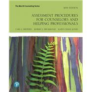 Assessment Procedures for...,Sheperis, Carl J.; Drummond,...,9780135186022