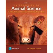 Introduction to Animal...,Damron, W. Stephen,9780134436050