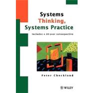 Systems Thinking, Systems...,Checkland, Peter,9780471986065