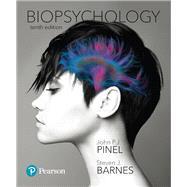 Biopsychology,Pinel, John P. J.; Barnes,...,9780134636108