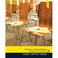 Training & Development...,Beebe, Steven A.; Mottet,...,9780205006120