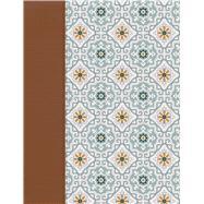 NVI Biblia de Apuntes, azulejos color salvia, símil piel by Unknown, 9781535926126