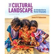 The Cultural Landscape An...,Rubenstein, James M.,9780135116159