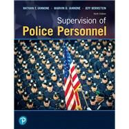 Supervision of Police...,Iannone, Nathan F.; Iannone,...,9780135186237