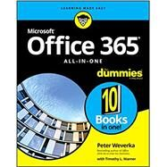 Office 365 All-in-one for...,Weverka, Peter; Warner,...,9781119576242