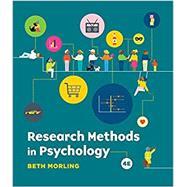 Research Methods in...,Morling, Beth,9780393536263