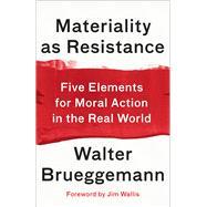 Materiality As Resistance by Brueggemann, Walter; Wallis, Jim, 9780664266264