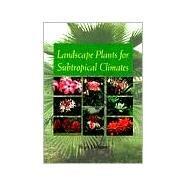Landscape Plants for...,Dehgan, Bijan,9780813016283