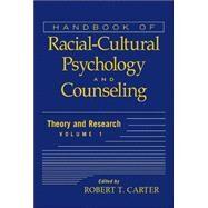Handbook of Racial-Cultural...,Carter, Robert T.,9780471386285