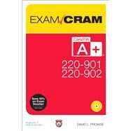 CompTIA A+ 220-901 and...,Prowse, David L.,9780789756312