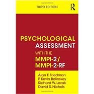 Psychological Assessment with...,Friedman; Alan F.,9780415526333