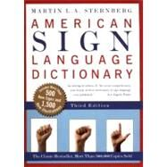 American Sign Language...,Sternberg, Martin L. A.,9780062736345