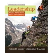 Leadership, 6th Edition,Lussier; Achua,9781285866352