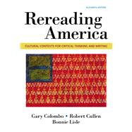 Rereading America Cultural...,Colombo, Gary; Cullen,...,9781319056360