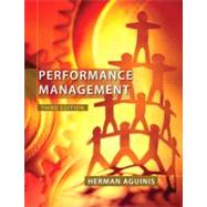 Performance Management,Aguinis, Herman,9780132556385