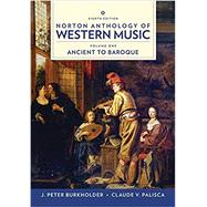 Norton Anthology of Western...,Burkholder, J. Peter; Grout,...,9780393656411
